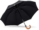 Shedrain Stratus Collection Manual Stick Crook Umbrella with Malacca Cane Handle