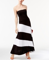 INC International Concepts Petite Convertible Colorblocked Maxi Skirt, Created for Macy's