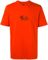 Oamc Hog print T-shirt - men - Cotton/Polyurethane - M