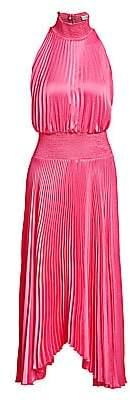 A.L.C. Women's Renzo Pleated Blouson Dress - Size 0
