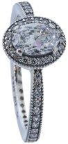 Pandora Ring 191017CZ-58 Silver Woman Vintage Elegance