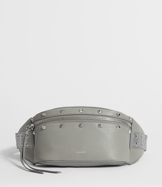AllSaints Sid Leather Fanny Pack