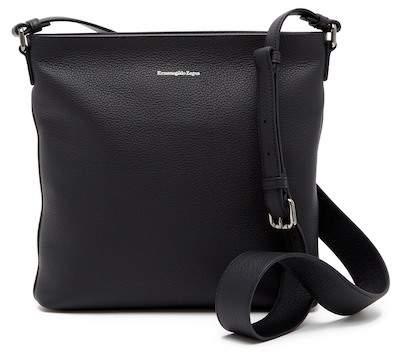 Ermenegildo Zegna Leather Crossbody Bag