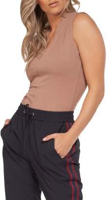 Dex V-Neck Sleeveless Bodysuit