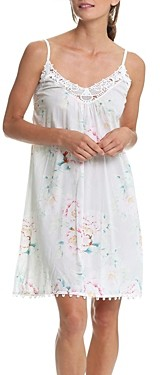 Papinelle Adele Lace Trim Nightgown
