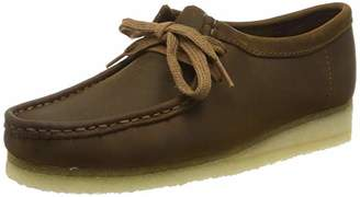 Clarks Wallabee Leather Shoes in Beeswax Standard Fit Size 61⁄2