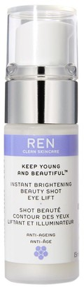 REN Keep Young and Beautiful Instant Brightening Beauty Shot Eye Lift, 15ml