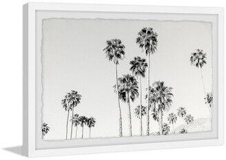 Morgan Marmont Hill California Palm Trees Framed Painting Print By Hartley