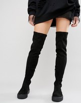 Asos KALI Creeper Over The Knee Boots