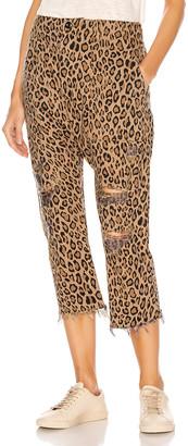 R 13 Leopard Utility Pants in Leopard | FWRD