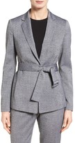 BOSS Petite Women's Jalesa Belted Wool Jacket