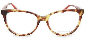 Bottega Veneta 53MM Square Optical Glasses