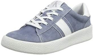 Calvin Klein Jeans Gaia Suede/smooth, Women's Low-Top Sneakers, Multicolour (Dnw 000), (38 EU)