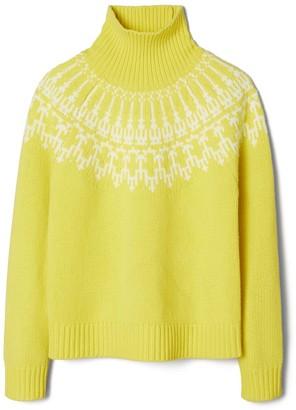 Tory Burch Merino Fair Isle Sweater