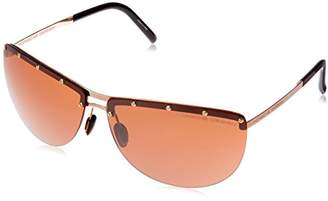 Porsche Design Women's P8577 Sunglasses,M