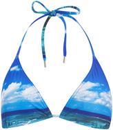 Orlebar Brown Women's Brigitte Hulton Getty Mustique Mystique Bikini Bottoms Blue