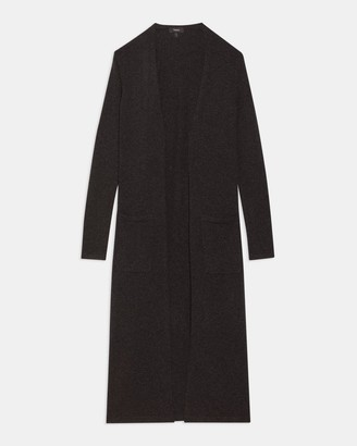 Theory Long Cardigan in Cashmere