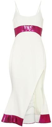 David Koma Sequined cady dress
