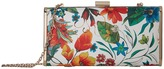 Jessica McClintock Heather Tropical Floral Minaudiere Handbags