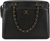 Chanel Pre Owned 1998 CC turn-lock chain tote