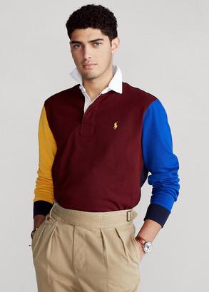 Ralph Lauren Color-Blocked Rugby Shirt