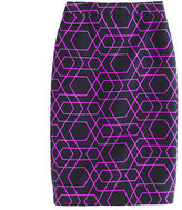 J.Crew No. 2 pencil skirt in geometric print
