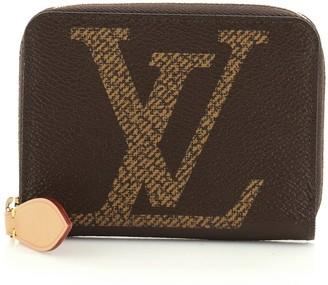 Louis Vuitton Zippy Coin Purse Limited Edition Reverse Monogram Giant
