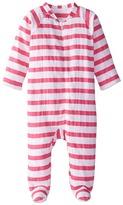 Aden Anais aden + anais Long Sleeve Zipper One Piece (Infant)