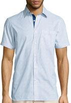 Asstd National Brand International Report Short-Sleeve Woven Button-Front Shirt