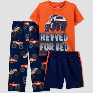 Just One You Made By Carter's Toddler Boys' 3pc Revved for Bed Car' Pajama Set - Just One You® made by carter's