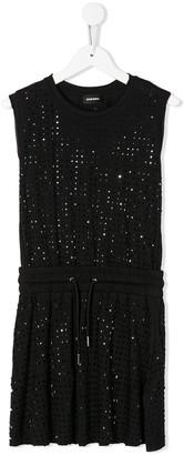 Diesel Dylla rhinestone-embellished dress