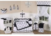 JoJo Designs Black and Princess Accent Floor Rug by Sweet
