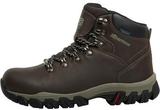 Karrimor Womens Mendip 3 Weathertite Hiking Boots Chocolate