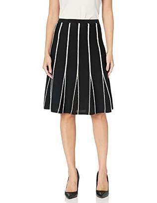Calvin Klein Women's Stripe Sweater Skirt