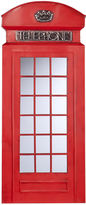 Asstd National Brand Edmond Phone Booth Wall Mirror