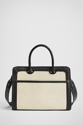 Witchery Lana Canvas Tote