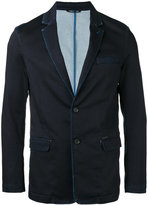 Diesel washed effect blazer