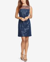 American Living Sequined Sheath Dress
