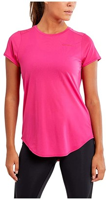 Craft Charge Short Sleeve Run Tee (Fame) Women's Clothing