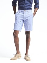 "Banana Republic Aiden Slim Corded 10"" Short"