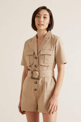 Seed Heritage Utility Belted Playsuit