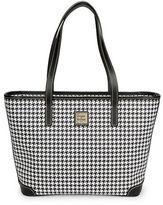 Dooney & Bourke Charleston Houndstooth Shopper Bag