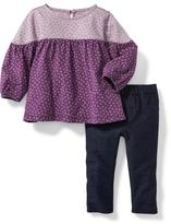 Old Navy 2-Piece Knit Top and Jegging Set for Baby