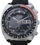 Seiko 6139-6002 Stainless Steel & Leather Automatic 41mm Mens Watch 1970