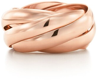 Tiffany & Co. Paloma's Melody five-band ring in 18k rose gold