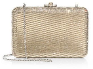 Judith Leiber Couture Slim Slide Crystal Clutch