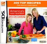 Nintendo America's Test Kitchen: Let's Get Cooking DS