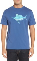 Vineyard Vines Men's Sailfish Whale Line Graphic T-Shirt