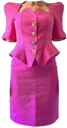 Christian Lacroix Pink Silk Jacket for Women Vintage