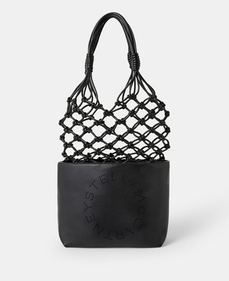 Stella McCartney logo knotted bag